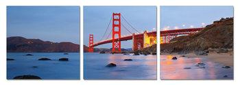 Wandbilder San Francisco - Golden Gate