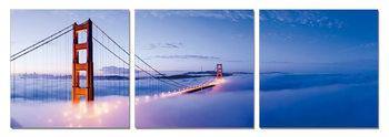 Wandbilder San Francisco - Golden Gate in Mist