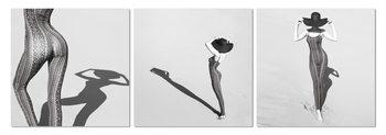 Wandbilder Silhouette of woman