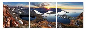 Wandbilder Sunrise over the bay