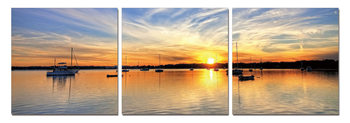 Wandbilder Sunset from the Sailing Boat