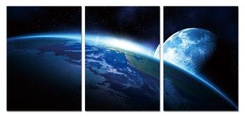 Wandbilder View from space