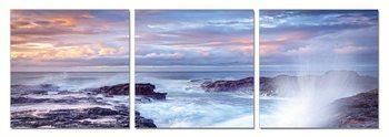Wandbilder Wave at dusk