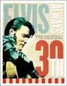Metalen wandbord ELVIS PRESLEY - 30th anniversary