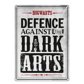 Metalen wandbord Harry Potter - Dark Arts