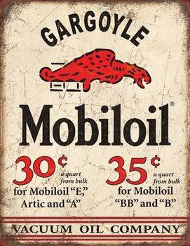Metalen wandbord Mobil Gargoyle