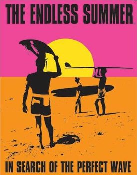 Metalen wandbord THE ENDLESS SUMMER - In Search Of The Perfect Wave