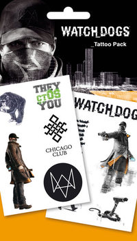 Τατουάζ  Watch Dogs - Chicago