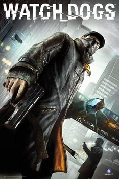 Watch dogs - cover  плакат