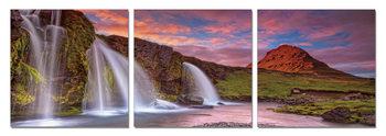 Waterfalls Modern tavla