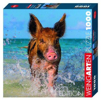 Puzzle Weingarten Paradise Pig