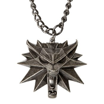 Wiedźmin 3: Dziki Gon (The Witcher)  - Medallion and Chain