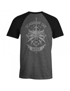 T-shirt Wiedźmin 3: Dziki Gon (The Witcher) - School of the Wolf