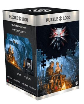 Puzzle Wiedźmin (The Witcher) - Journey of Ciri