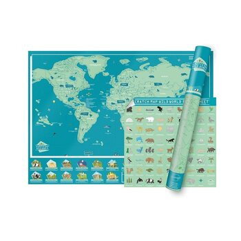 Mappe da grattare Wild World Edition