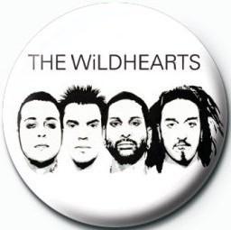WILDHEARTS (WHITE) Insignă