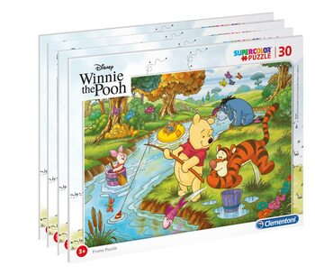 Puzzle Winnie the Pooh - Frame 4in1