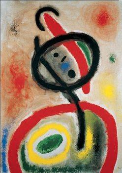 Woman III, 1965 Festmény reprodukció