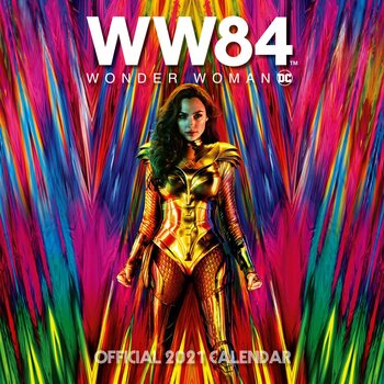 Ημερολόγιο 2021 Wonder Woman - Movie