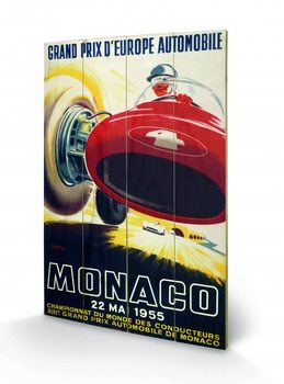 Obraz na dřevě - Monaco - 1956