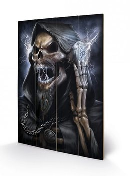Obraz na dřevě - SPIRAL - dead beats / reaper