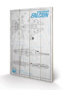 Star Wars Episode VII - Millennium Falcon Plans Trækunstgmail