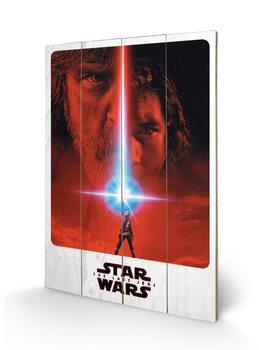 Obraz na dřevě Star Wars: Poslední z Jediů - Teaser