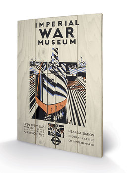 Obraz na dřevě - Transport For London - Imperial War Museum, Ship, 1936