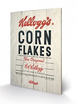 Obraz na dřevě - VINTAGE KELLOGGS - corn flakes