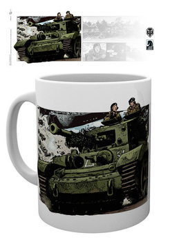 Taza World Of Tanks - Comics