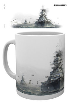 Taza World Of Warships - Bismark