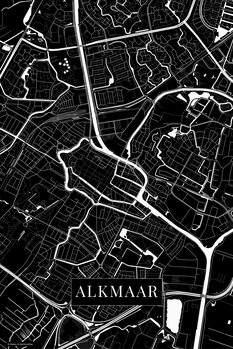 Карта Alkmaar black