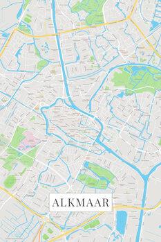 Карта Alkmaar color