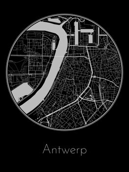 Карта Antwerp