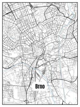 Карта Brno