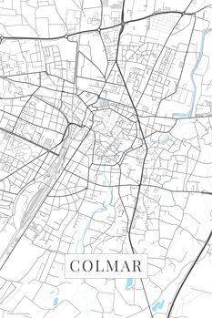 Карта Colmar white