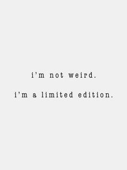 Ілюстрація I'm not weird