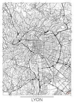 Карта Lyon