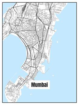 Карта Mumbai