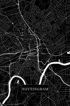 Карта Nottingham black