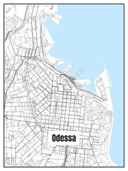 Карта Odessa