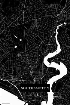 Карта Southampton black
