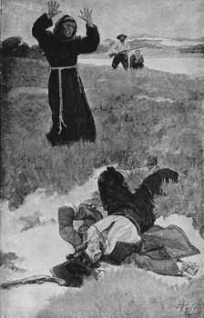 The Assassination of La Salle, illustration from 'La Salle and the Discovery of the Great West' by Francis Parkman Картина