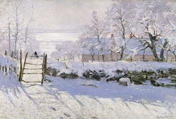 The Magpie, 1869 Картина