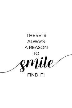 Ілюстрація THERE IS ALWAYS A REASON TO SMILE