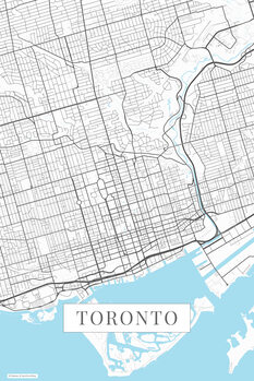 Карта Toronto white