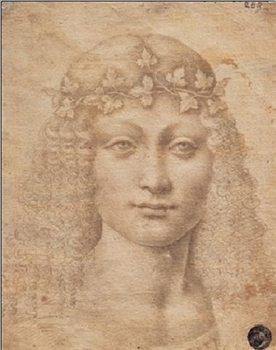 Young Bacchus - Giovane Bacco Festmény reprodukció