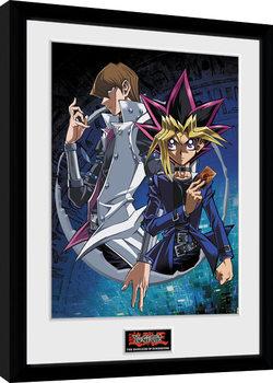 Πλαισιωμένη αφίσα  Yu Gi Oh - Dark Side of Dimension Yugi and Kaiba