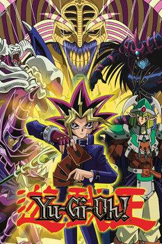 YU GI OH! - Yugi and Monsters - плакат (poster)