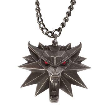 Zaklínač 3: Divoký Hon (The Witcher)  - LED Medallion